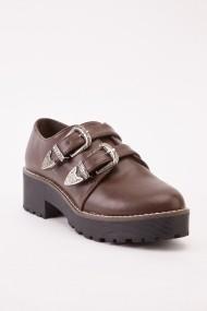 Обувки eOutlet FVP-642385-271638 Кафяв