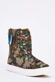 Pantofi sport 630911-249135 Kaki