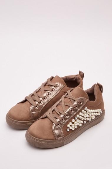 Pantofi sport 643078-273184 Kaki