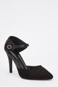 Pantofi cu toc 629931-247134 Negru