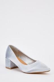 Pantofi cu toc 630712-248688 Argintiu