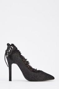 Pantofi cu toc 629394-246089 Negru