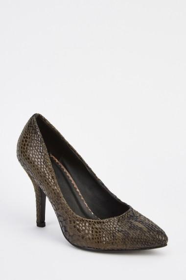 Pantofi cu toc 630372-248020 Negru