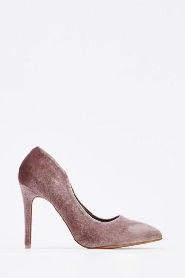 Pantofi cu toc 629735-246757 Gri