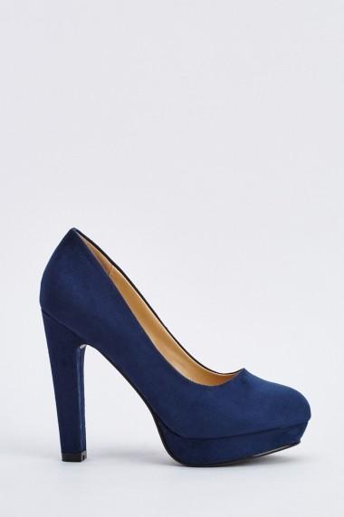 Pantofi cu toc 639479-265848 Kaki