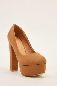 Pantofi cu toc 640905-268629 Bej