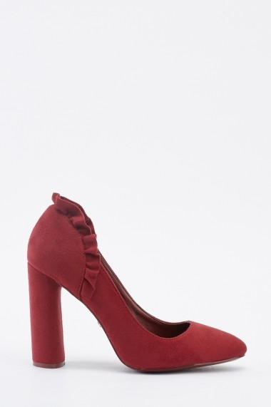 Pantofi cu toc 641961-270689 Rosu