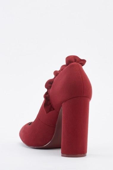 Pantofi cu toc 641961-270691 Bej