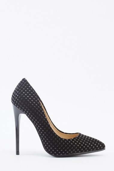 Pantofi cu toc 642171-271198 Negru