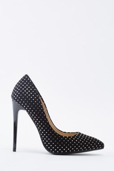 Pantofi cu toc 642171-271199 Argintiu
