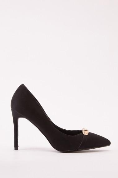 Pantofi cu toc 642409-271707 Negru
