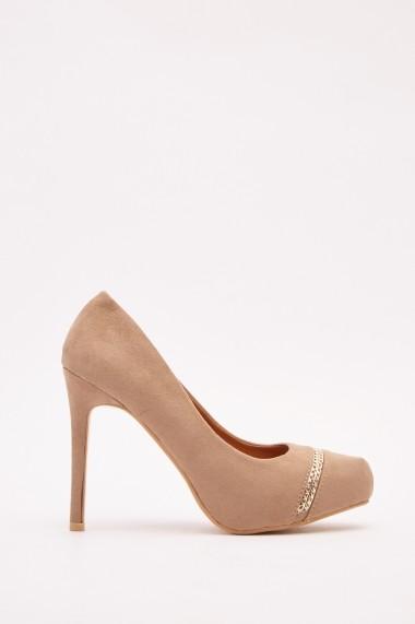 Pantofi cu toc 642556-272025 Bej