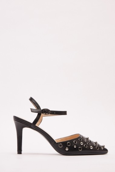 Pantofi cu toc 642856-272745 Negru
