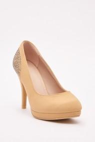 Pantofi cu toc 642843-272713 Bej