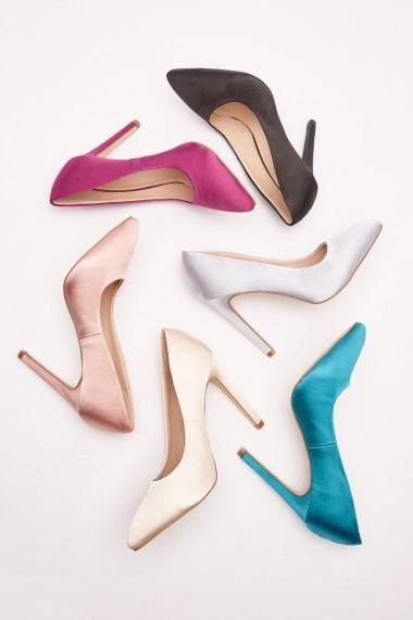 Pantofi cu toc 642883-272818 Argintiu - els