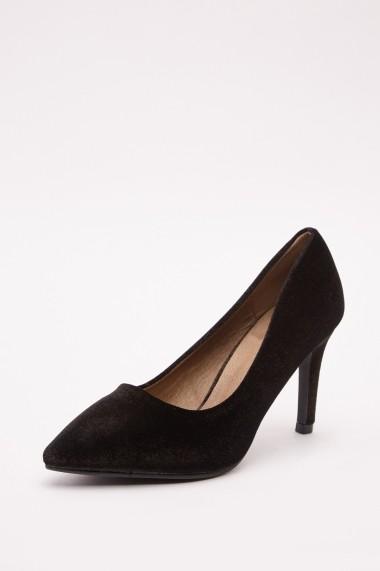 Pantofi cu toc 643073-273177 Negru