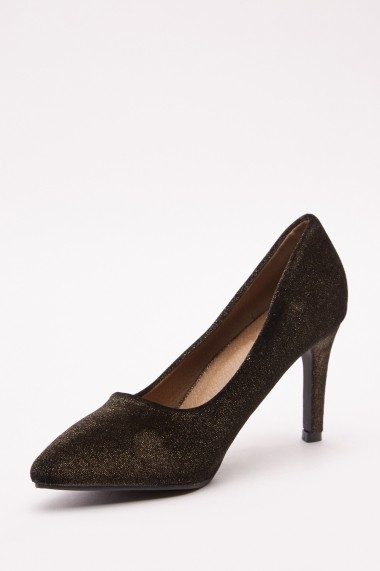 Pantofi cu toc 643073-273178 Negru