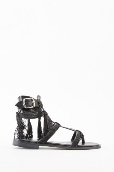Sandale plate 641550-269891 Negru