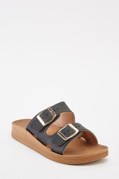 Sandale plate 641512-269835 Negru