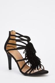 Sandale cu toc 629731-246746 Negru