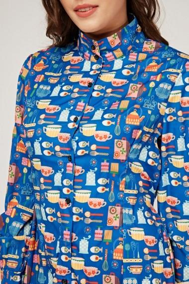 Rochie de zi 641017-268904 Multicolor