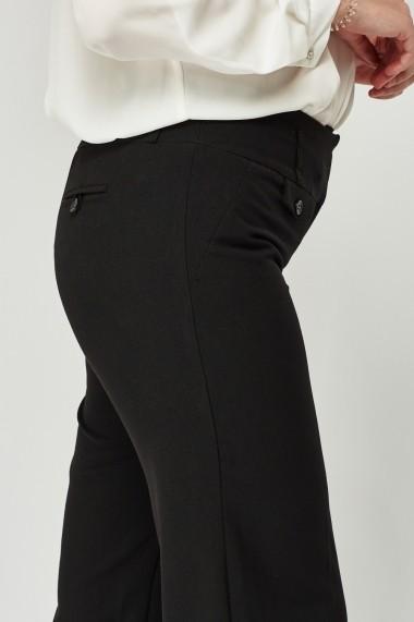Pantaloni 630267-247827 Negru - els