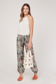Широк панталон. FVP-640434-267694 бяло