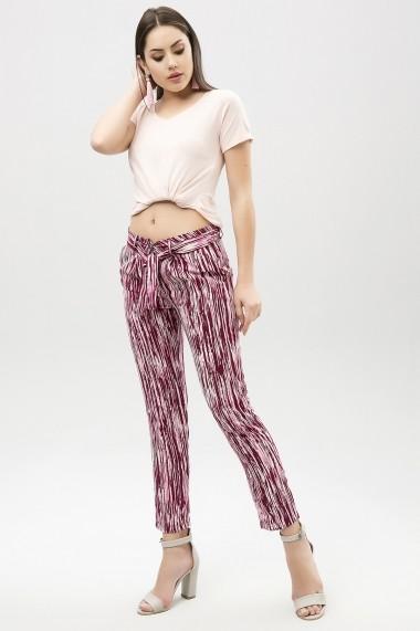 Pantaloni largi NEW LAVIVA BFG-650-2291 W37 Roz