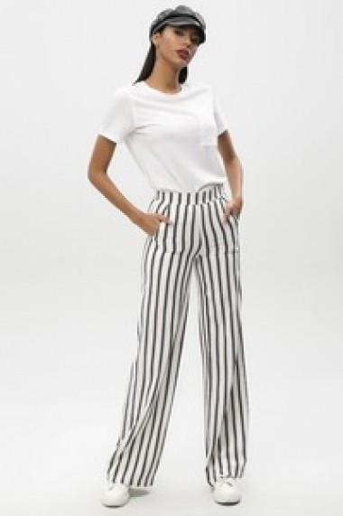 Pantaloni largi NEW LAVIVA BFG-650-2236 K27 Ecru