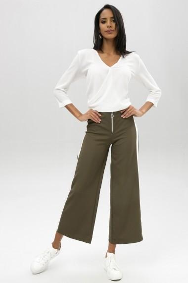 Pantaloni largi NEW LAVIVA 650-2131 056 Kaki - els