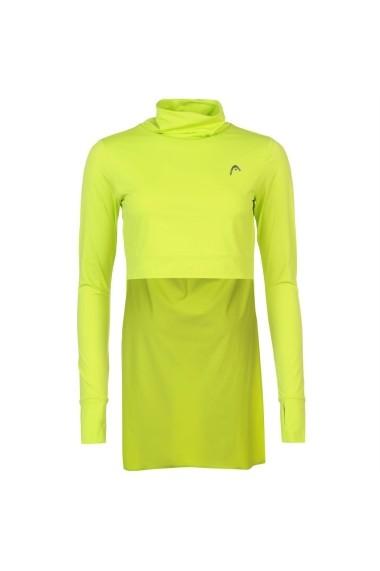Bluza sport HEAD 59945028 Verde