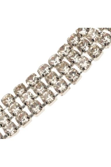 Choker Golddigga 91436111 Argintiu