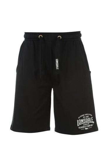 Pantaloni sport Lonsdale 63224403 Negru