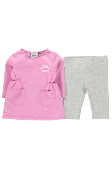 Set bluza si pantaloni Lonsdale 56216206 Roz