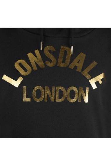 Hanorac Lonsdale 66415903 Negru