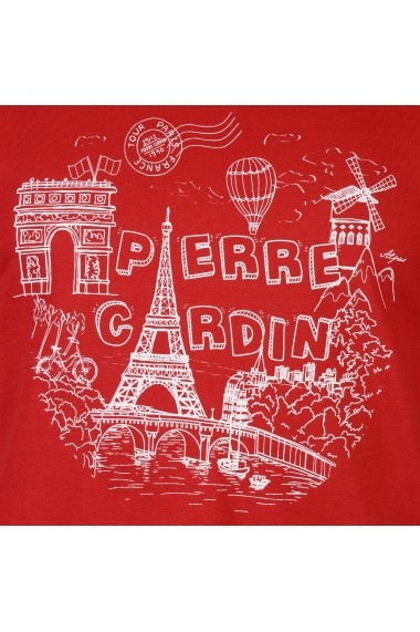 Tricou Pierre Cardin 59854108 Rosu