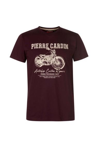 Tricou Pierre Cardin 59729209 Bordo
