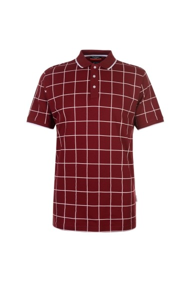 Tricou Polo Pierre Cardin 54247809 Bordo