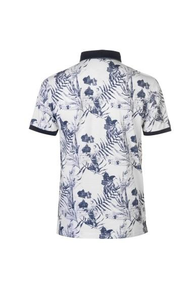 Tricou Polo Pierre Cardin 54252301 Alb