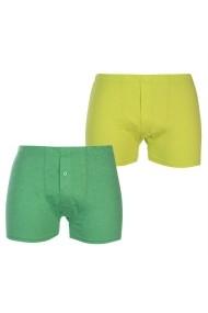 Set 2 boxeri Slazenger 42217598 Verde