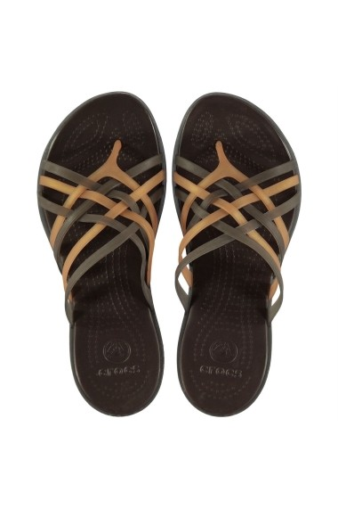 Flip Flops Huarache Crocs 22908605 Bronz