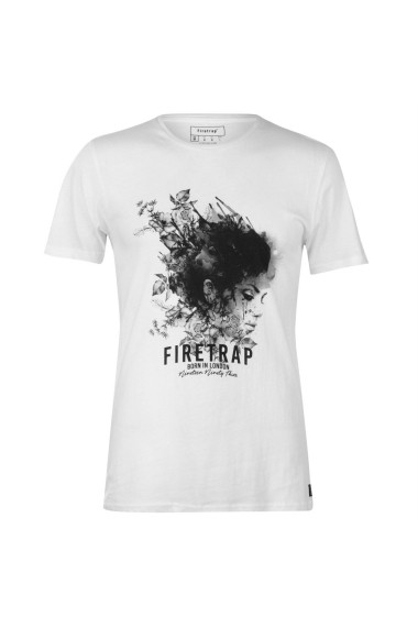 Tricou Firetrap 59002601 Alb