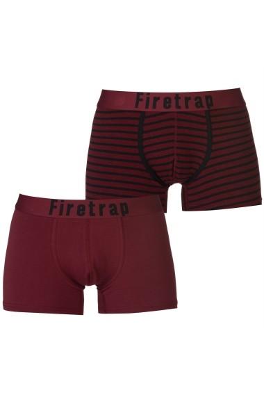 Set 2 boxeri Firetrap 42217780 Bordo