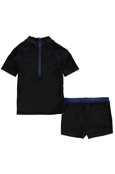 Set pantaloni scurti si tricou Character 35048488 Negru