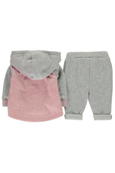 Set jacheta, tricou si pantaloni Character 56022691 Gri