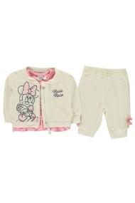 Set jacheta, tricou si pantaloni Character 56022693 Bej
