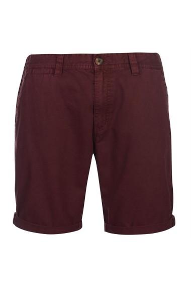 Pantaloni scurti SoulCal 47817909 Bordo