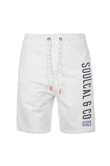Pantaloni scurti SoulCal 47818869 Gri