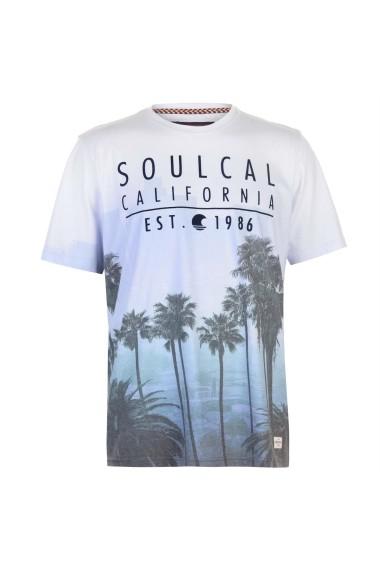 Tricou SoulCal 59909018 Albastru