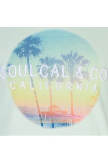 Tricou SoulCal 59020058 Albastru